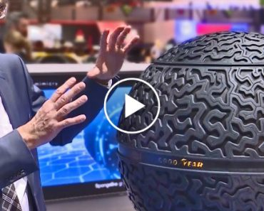 The Future Tire By Goodyear It's a Sphere! 2