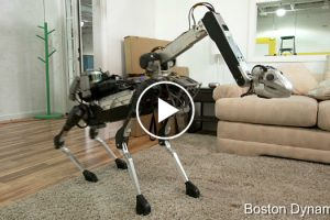 SpotMini Is The New Smaller Four Legged Robot From Boston Dynamics 11