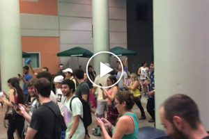 A Throng Of 'Pokémon Go' Players Swarm A College Campus In An Attempt To Catch A Squirtle 11