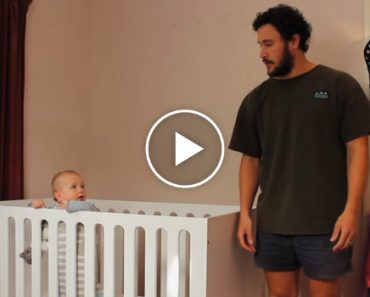 Funny Dad Hilariously Shows Us How To Put A Baby To Sleep 2