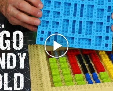Make Your Own Silicone LEGO Candy Mold 1