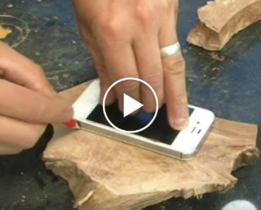 How To Make A Glowing Wooden iPhone Case 8