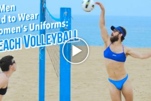 If Men Had to Wear Women's Olympic Beach Volleyball Uniforms 12