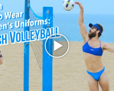 If Men Had to Wear Women's Olympic Beach Volleyball Uniforms 7