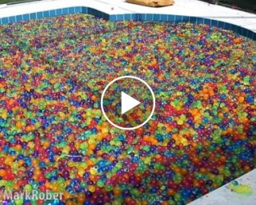 What Happens When You Dive Into a Pool Filled With 25 Million Squishy Waterballs? 2