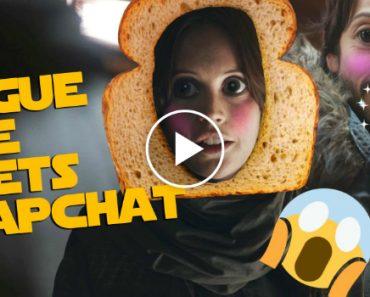 Star Wars Rogue One Meets Snapchat 5