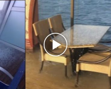 The Terrifying Moment a Cruise Ship Suddenly Tilted While In Ocean 7