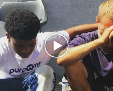 Selfless Louisville Teen Gives Homeless Man His Brand-New Shoes 7
