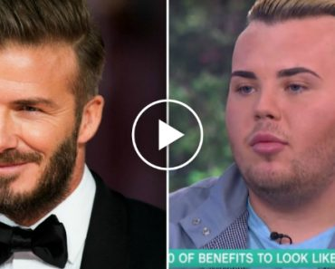 This Man Spent £20,000 On Surgery To Look Like David Beckham 1