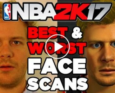 These Are A Few Of The Worst Face Scans On A Custom Player In NBA 2K17 1
