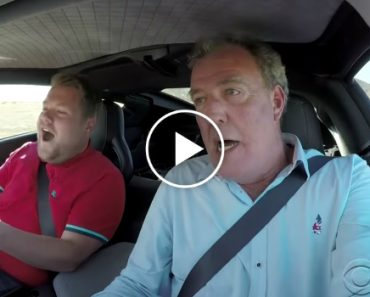 James Corden Quizzed Jeremy Clarkson in a High-Speed Car Race 3