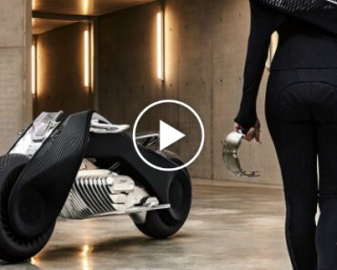 BMW Unveil The Future of Motorcycles: Motorrad Vision Next 100 9