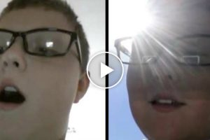 "Kid Demonstrates His Awesome ""Teleporting"" Skill By Sending Himself To The Front Yard 10"