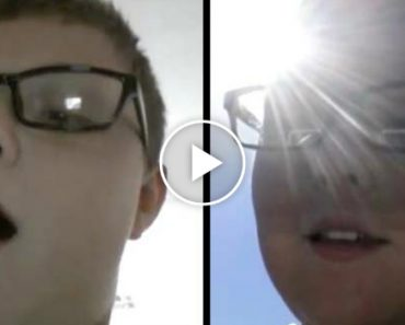 "Kid Demonstrates His Awesome ""Teleporting"" Skill By Sending Himself To The Front Yard 2"