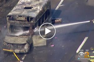 School Bus Transporting Kids Catches On Fire, But Quick-Thinking Boy With Autism Saves The Day 10