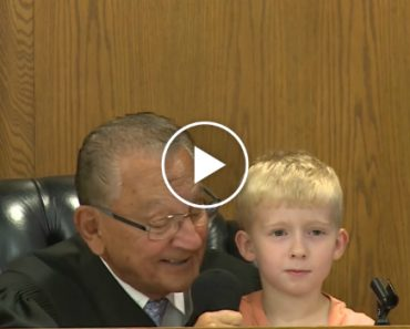 Wise Judge Gets Help From 5-Year-Old Boy 8