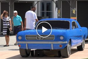 Full Size Lego Mustang Surprises Visitors At I-Drive 360 11