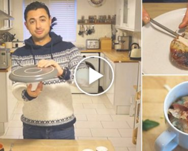 How To Make Christmas Dinner In A Mug In A Microwave In Five Minutes 3