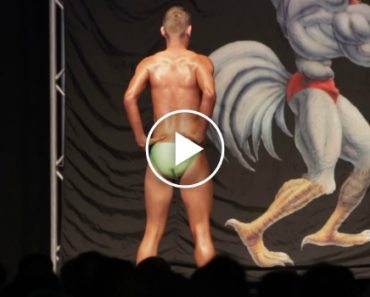Skinny Guy Joins A Body Building Competition 9
