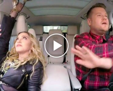 Madonna's Carpool Karaoke Is Here And, Well, You Just Need To See It For Yourself 4