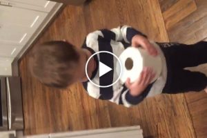 Extremely Grateful Kid Is Excited To Receive Toilet Paper For Christmas 10