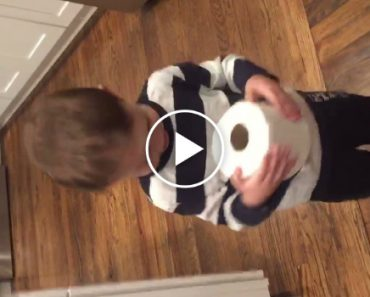 Extremely Grateful Kid Is Excited To Receive Toilet Paper For Christmas 7