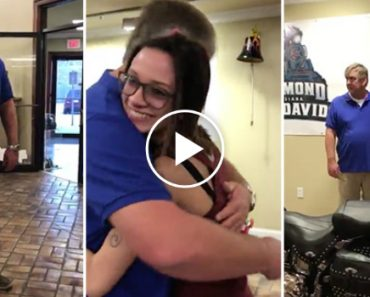Dad Is In Disbelief After Daughter Buys Him A Harley Davidson For Christmas! 6