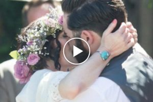 Husband's Beautiful Tribute To His Late Wife Will Make You Believe In True Love 11