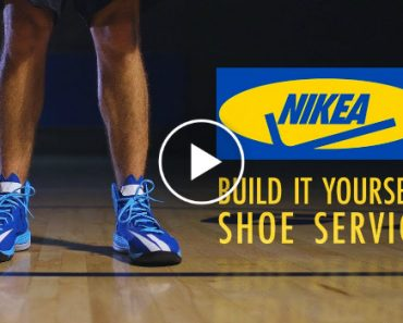 NIKEA, A Build It Yourself Shoe Service From Nike and IKEA 5