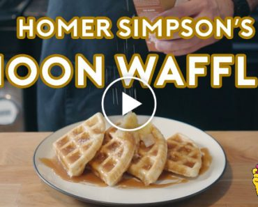 Homer Simpson's Patented Space Age Out-Of-This-World Moon Waffles 5