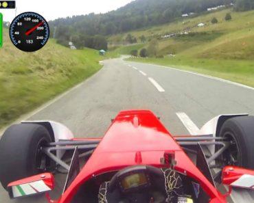 Crazy Onboard Video Of Hillclimb In Formula Race Car 7