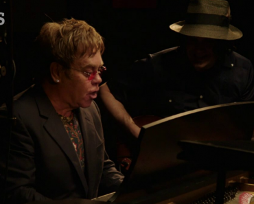 "Elton John And Jack White Team Up For Bluesy Duet ""Two Fingers Of Whiskey"" 6"