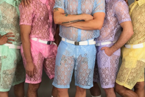 Lace Pastel Shorts For Men Are A Thing Now: Yay Or Nay? 20