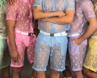 Lace Pastel Shorts For Men Are A Thing Now: Yay Or Nay? 15