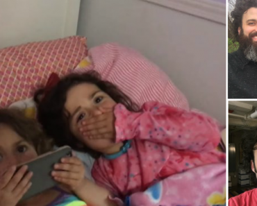Daughters Have The Best Reaction When They See Their Dad Without a Beard For The First Time 9