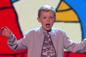 Little Kid Goes Into The Grand Final On BGT With His Judge Insulting Act 10