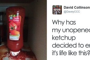 Guy Complains To Supermarket That His Unopened Ketchup Exploded, Store Responds 18