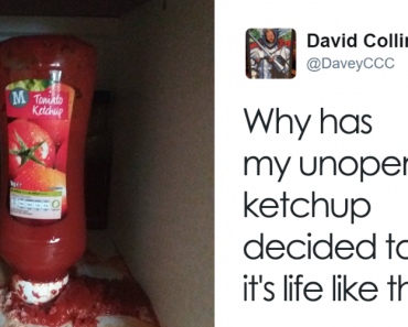 Guy Complains To Supermarket That His Unopened Ketchup Exploded, Store Responds 13