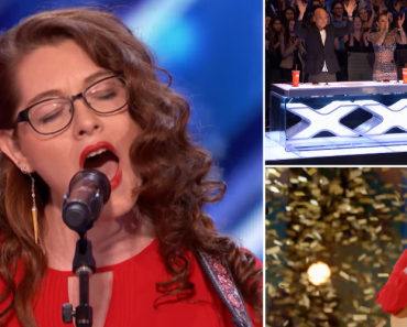 "Deaf Singer Earns Simon's Golden Buzzer With Original Song ""Try"" On America's Got Talent 4"