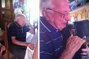 He Lost His Wife And His Dog, So This Man's Granddaughter Did Something Amazing 12