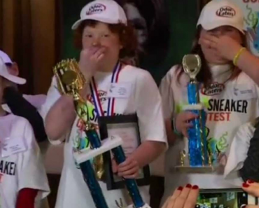 12-Year-Old Boy Wins $2,500 In Stinky Shoe Contest 4