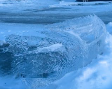 """""""Top Secret Ice Coating"""" Found In Parking Lot 4"""