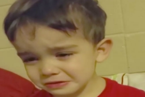 """Little Boy In Tears Because Dinner Is """"Too Cute To Eat,"""" Leaves Us In Stitches! 12"""