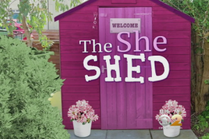 This Woman Created a She Shed And It May Leave You Envious Too! 12