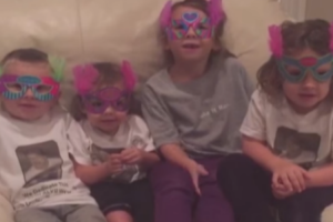 These Cute Kids' Birthday Message For Their Grandmother Ends On a Terrible Note 11