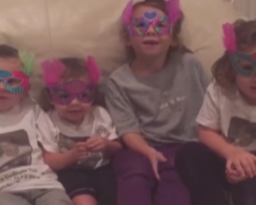 These Cute Kids' Birthday Message For Their Grandmother Ends On a Terrible Note 8