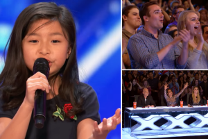"""Nine-Year-Old Celine Tam Stuns on """"America's Got Talent"""" With """"My Heart Will Go On"""" 12"""