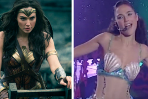 Before She Was Wonder Woman, Gal Gadot Was a Singing Mermaid 12