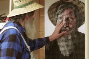Please Touch the Art: This Artist Creates Tactile Portraits For The Blind 12