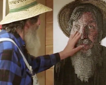 Please Touch the Art: This Artist Creates Tactile Portraits For The Blind 9